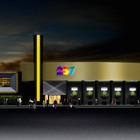 ナムコ、米国シカゴ郊外に『パックマン』モチーフの大型複合エンタメ施設「Level 257」をオープン