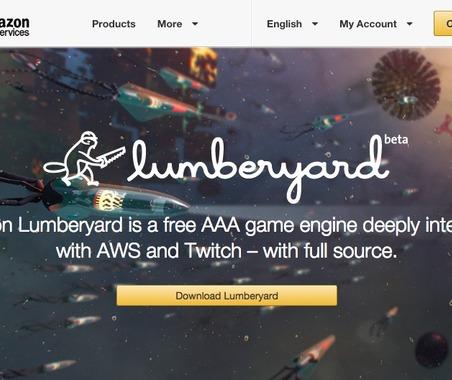 Amazon、CryEngineベースの3Dゲームエンジン「Amazon Lumberyard」を無料で提供開始 画像