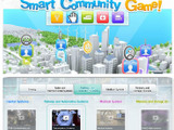 東芝、YouTubeでFacebook連動ゲーム「Play the Smart Community Game!」を公開 画像