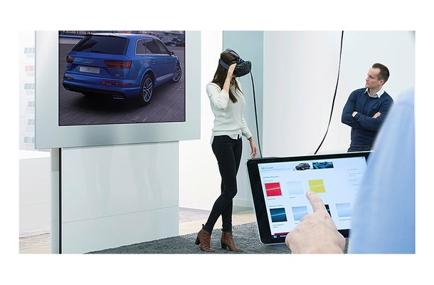 アウディ、OculusやViveでクルマ内部を体験できるシステムを開発