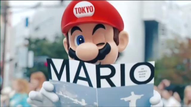 マリオ 安倍