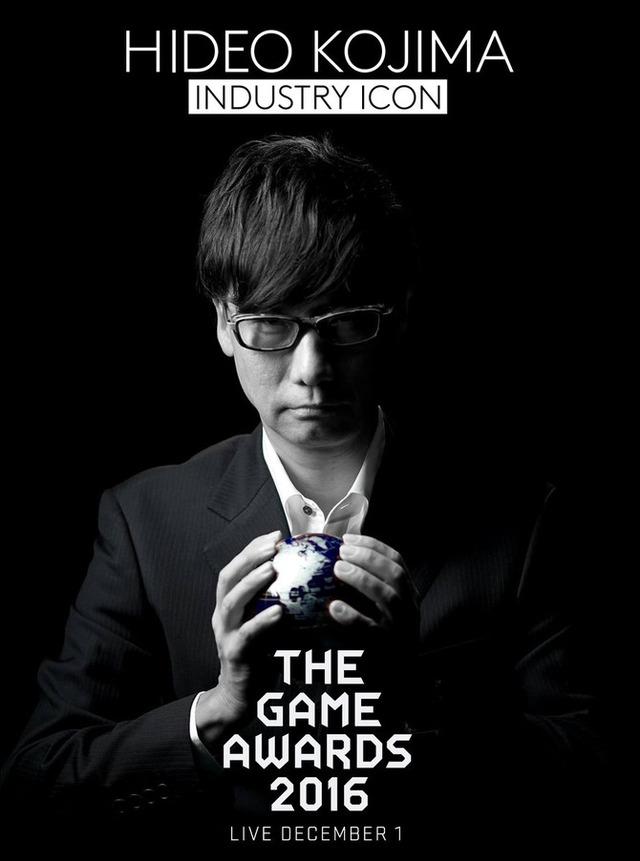 小島秀夫氏、「The Game Awards 2016」でIndustry Icon Award受賞へ
