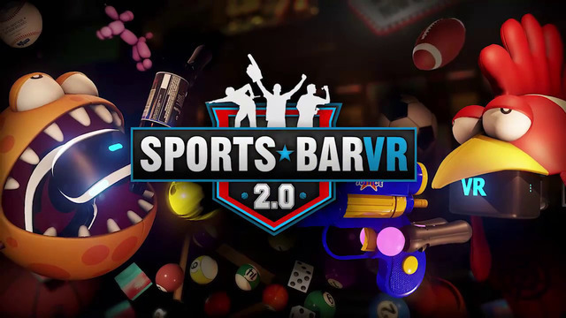 『Sports Bar VR』がPS VR/Vive/Ouclusのクロスプレイに対応!